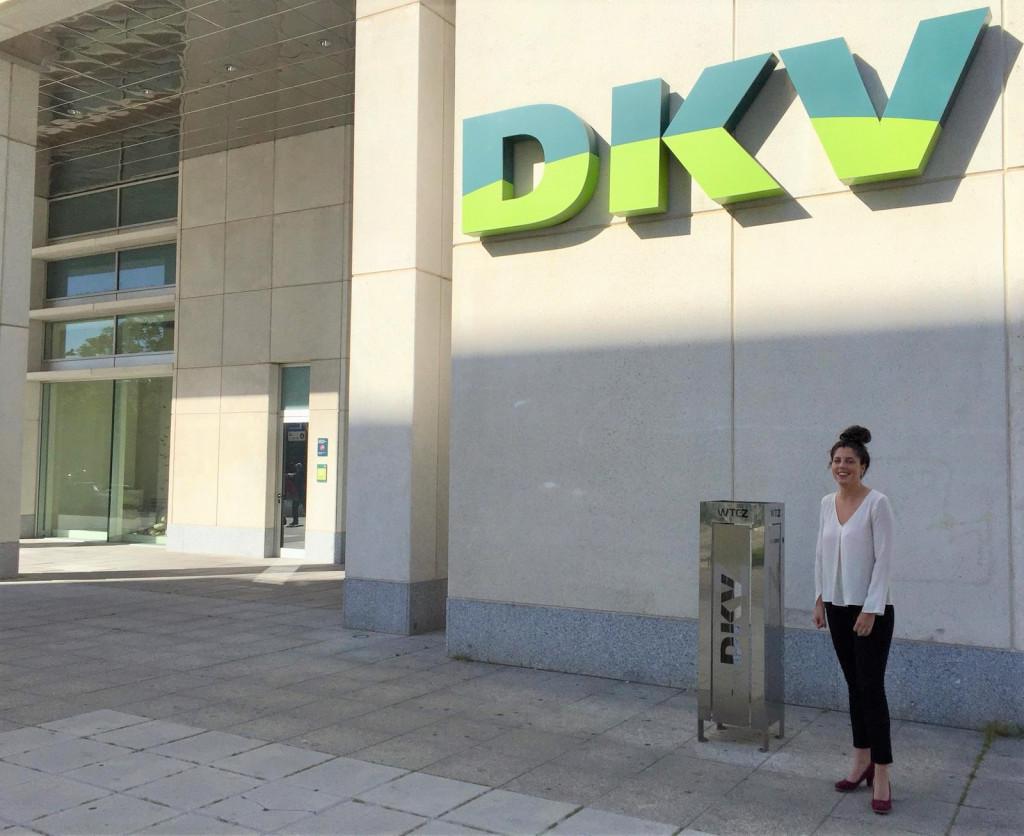 Claudia Esteban en DKV Zaragoza