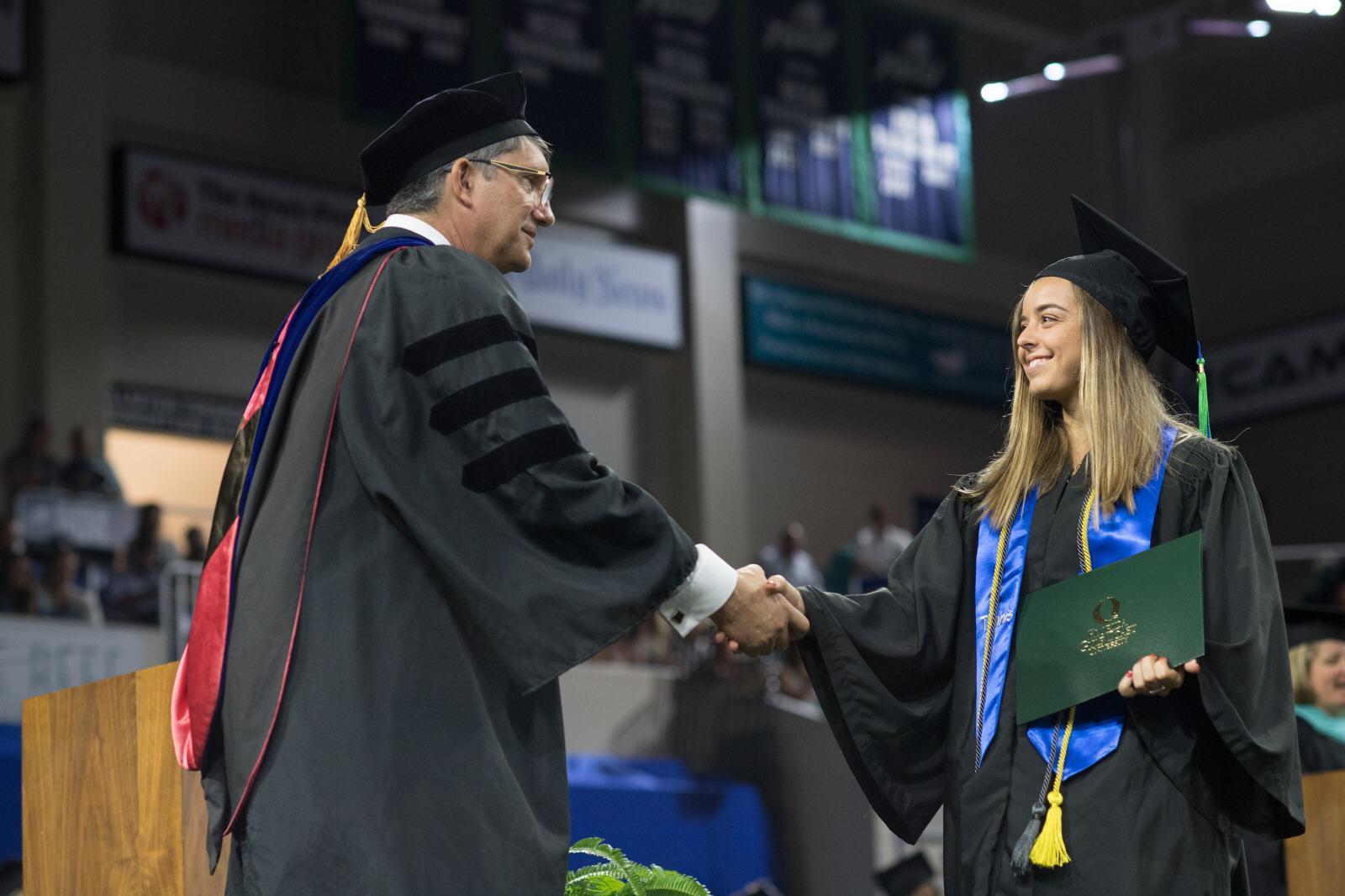 Graduación de Laura Falceto