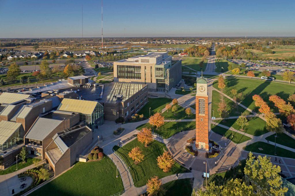Una de las ,mejores universidades de natación en Estados Unidos, Grand Valley University