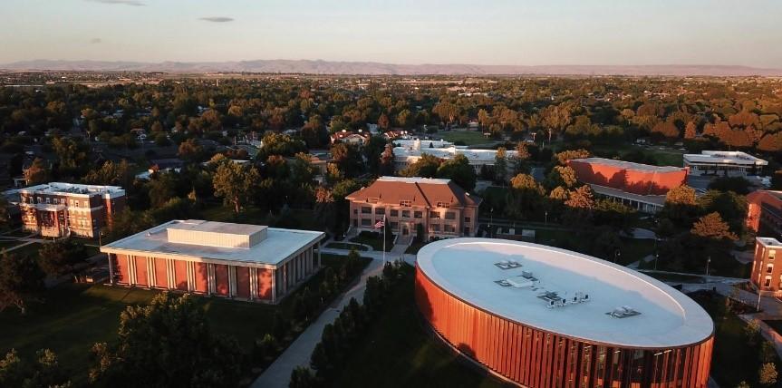 Imagen del campus de College of Idaho