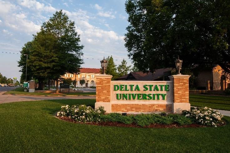 Imagen de la universidad del equipo de natación Delta State Statesmen