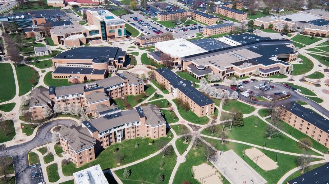 Imagen del campus de Indiana Wesleyan University
