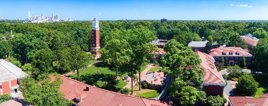 Imagen del campus de Queens University of Charlotte