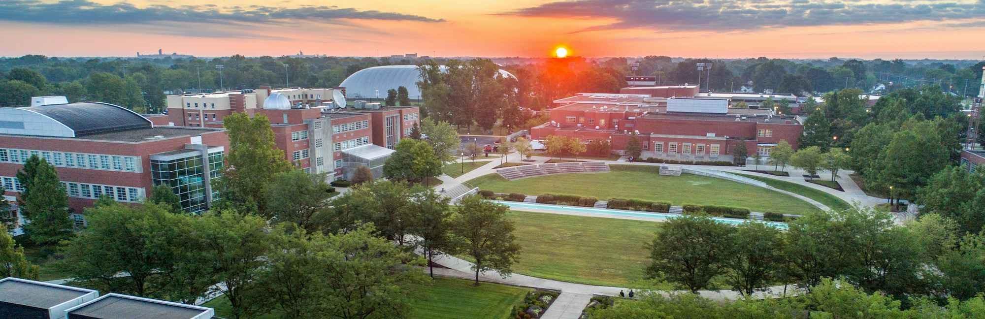 Imagen del campus de University of Indianapolis