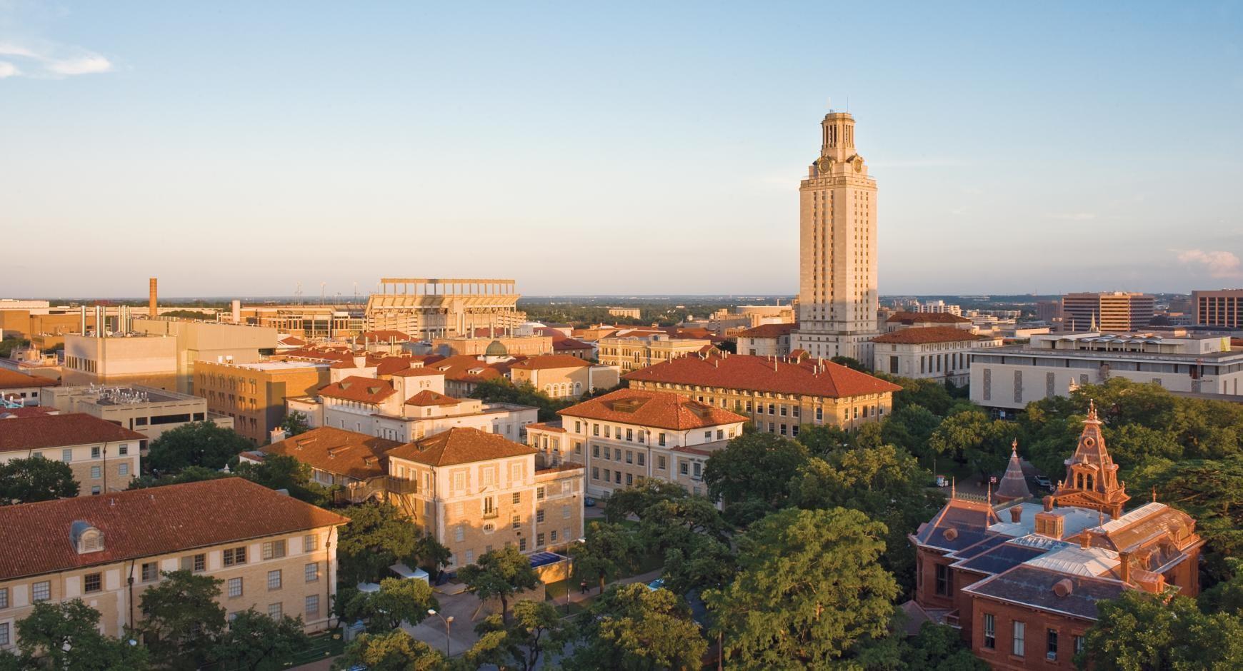 Imagen del campus del equipo de natación de los Texas Longhorns