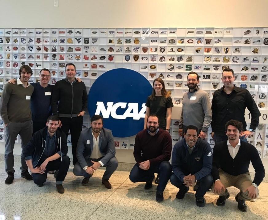 Visita a la sede de la NCAA (Indianapolis, 2019)