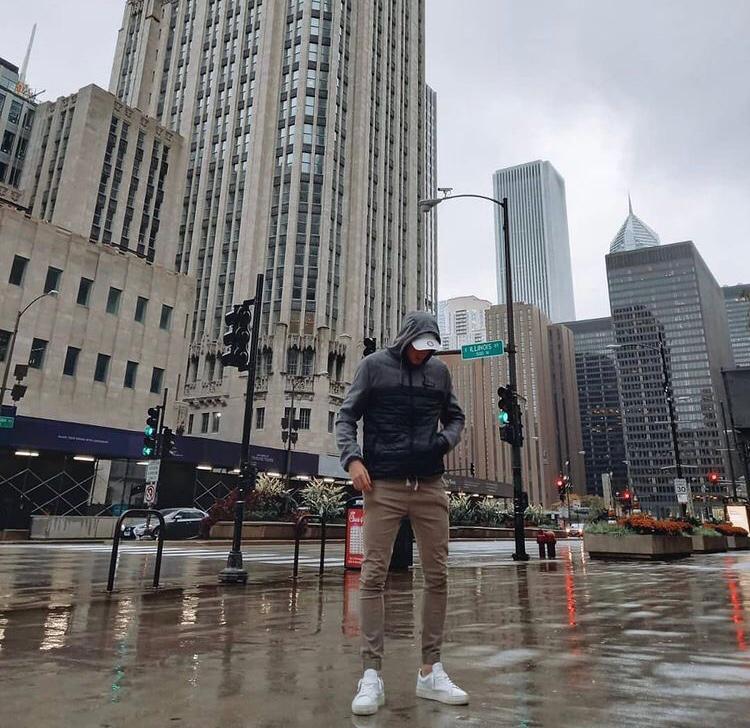 Nicolás en Chicago.