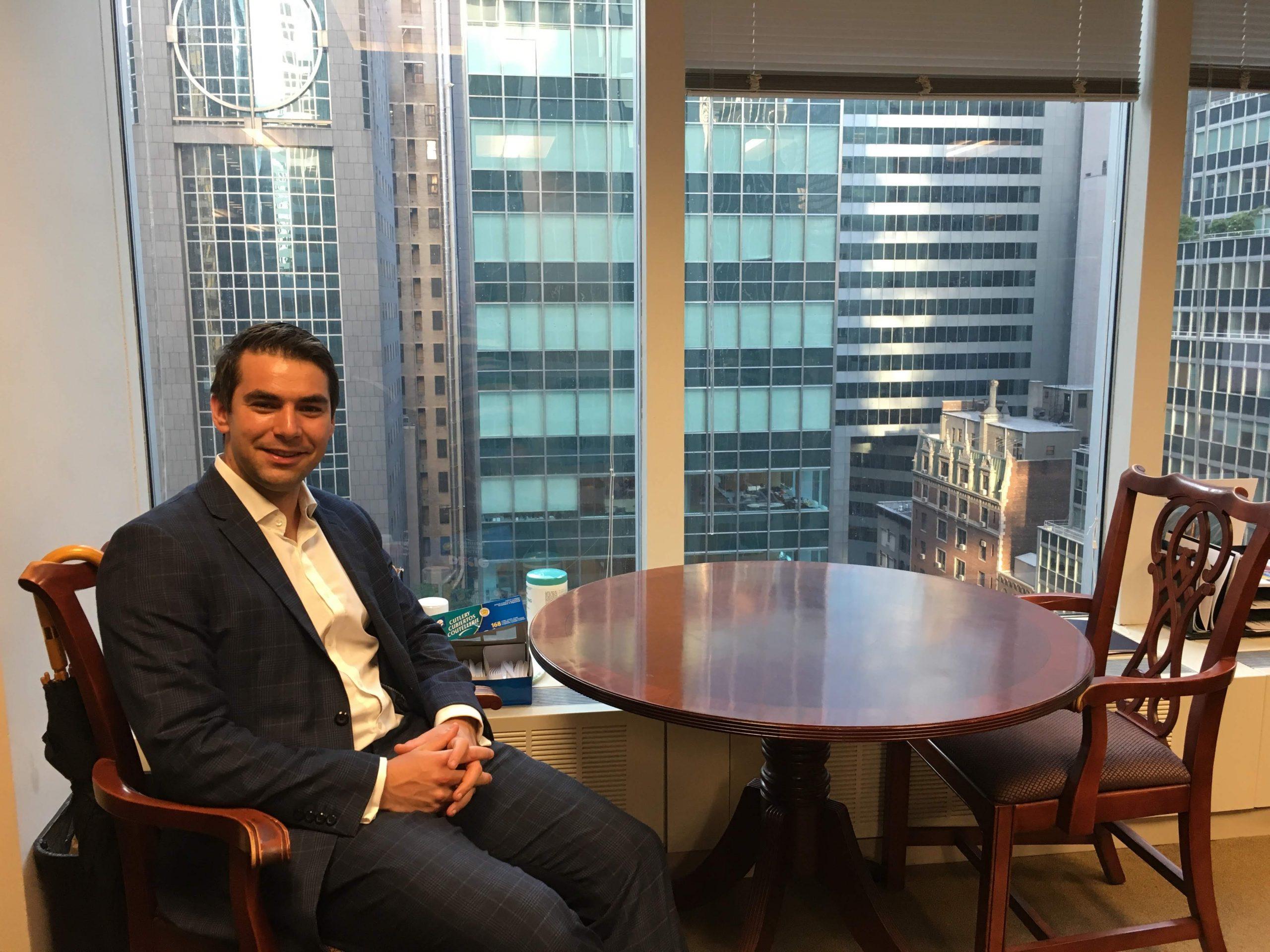 Nicolás Jubera trabaja en USA en Morgan Stanley